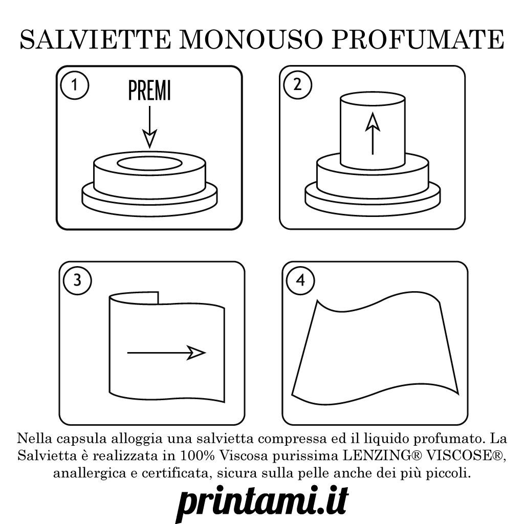 Salviette monouso personalizzate 2
