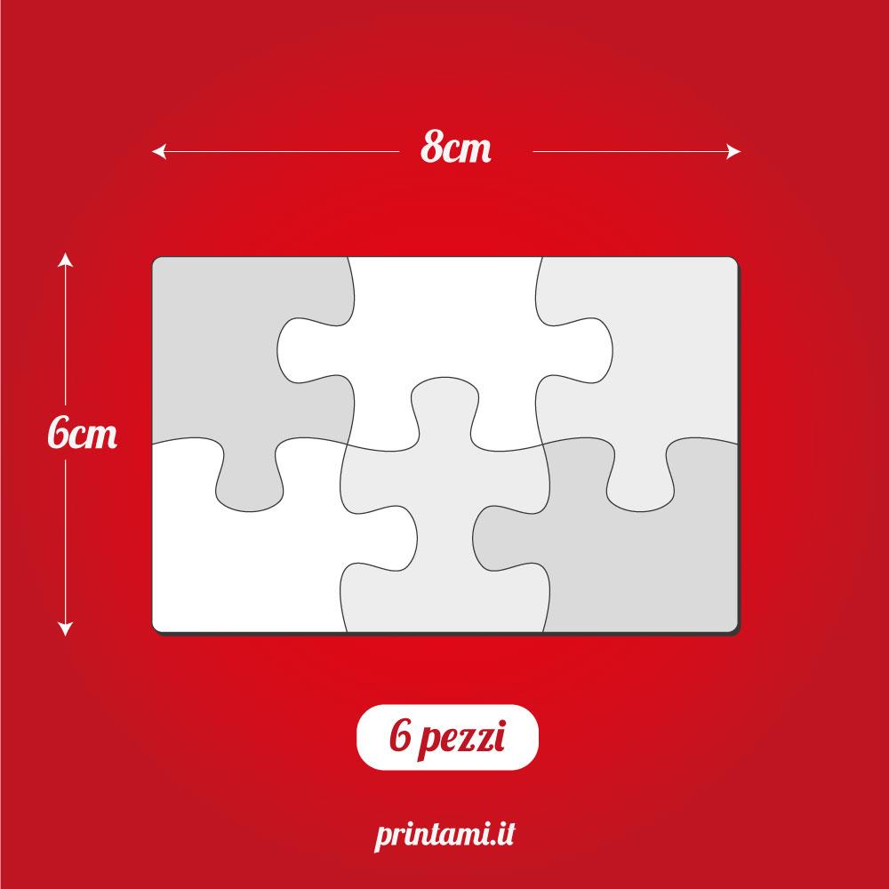 Puzzle magnetico da 6 pezzi 2