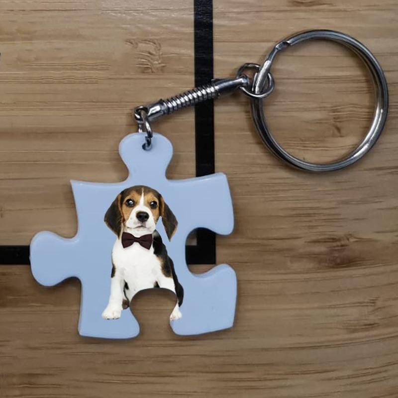 Portachiavi puzzle personalizzato