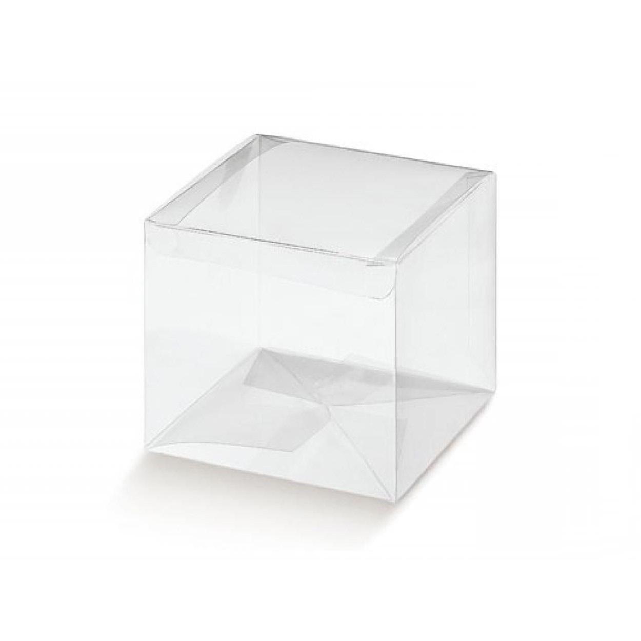10 Cubi trasparenti portabomboniere 2