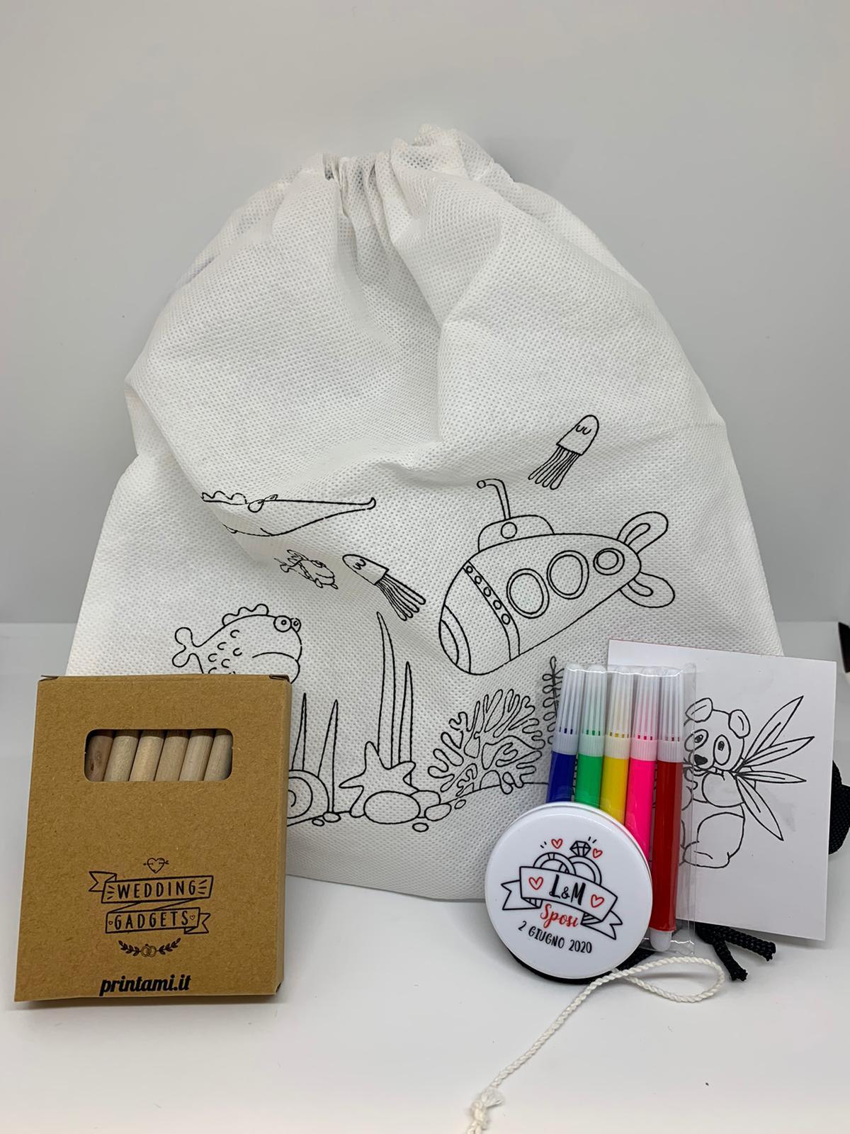 KIT per bambini wedding bag