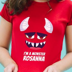 T-Shirt I'm a Monster per lei 2