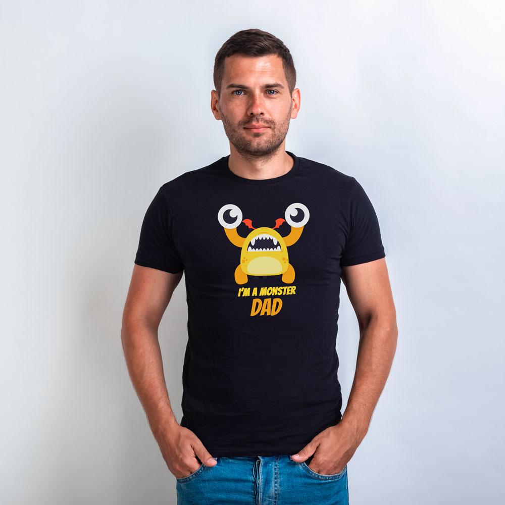 T-Shirt I'm a Monster per il papà 1