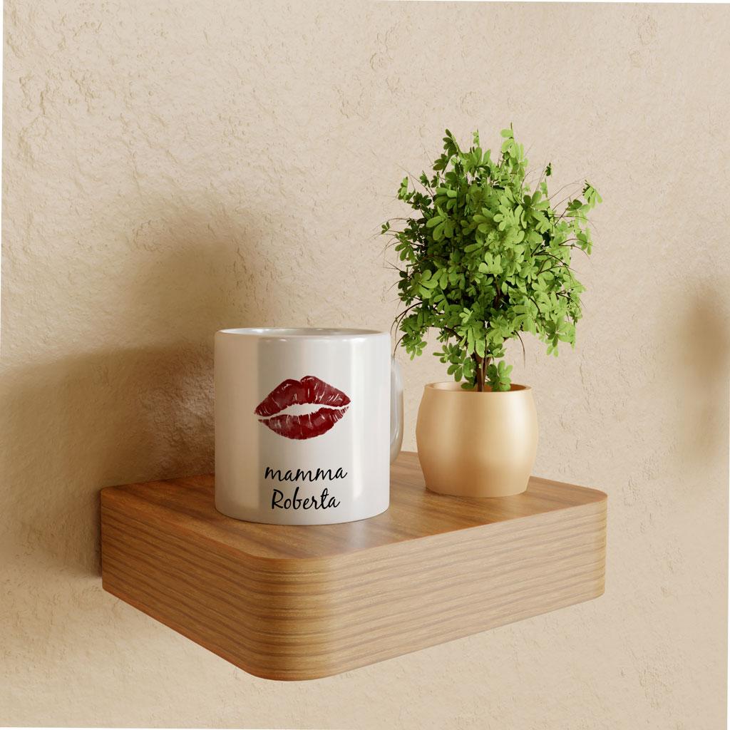 Mug mamma con bacio 1
