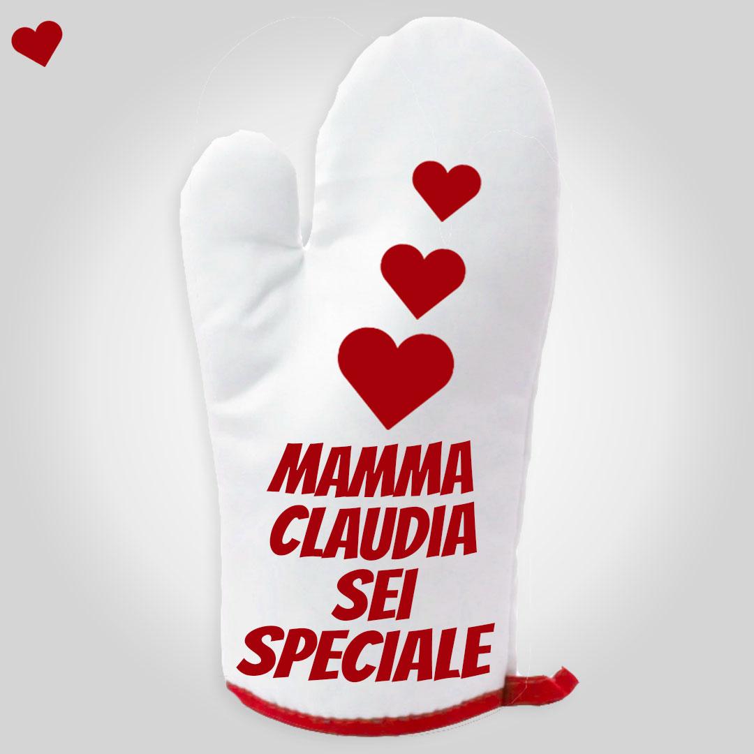 Guanto da cucina Mamma sei speciale 2
