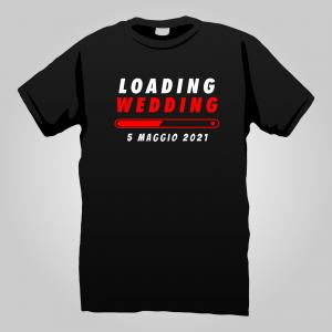 T-Shirt wedding loading 1