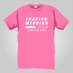T-Shirt wedding loading 2