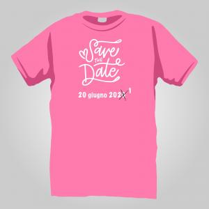 T-Shirt save the NEW date 2