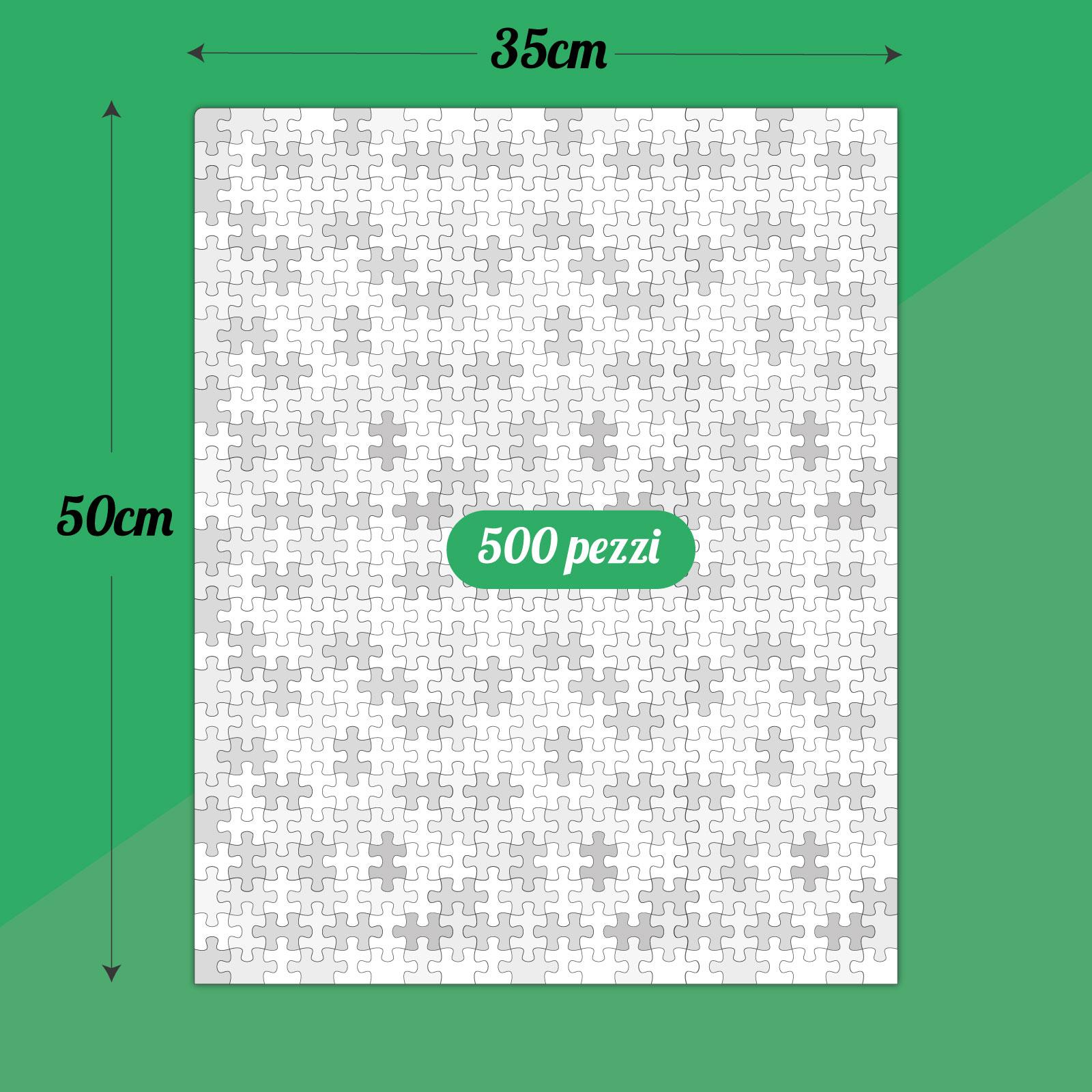 Puzzle 50 x 35 cm da 500 pz 2