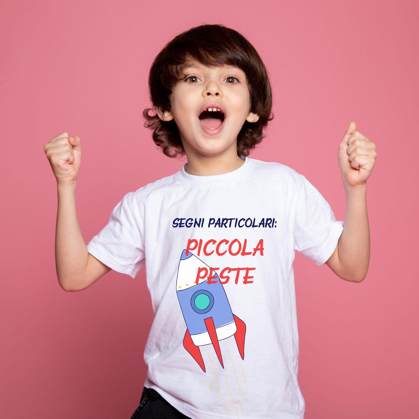 T-Shirt Piccola Peste