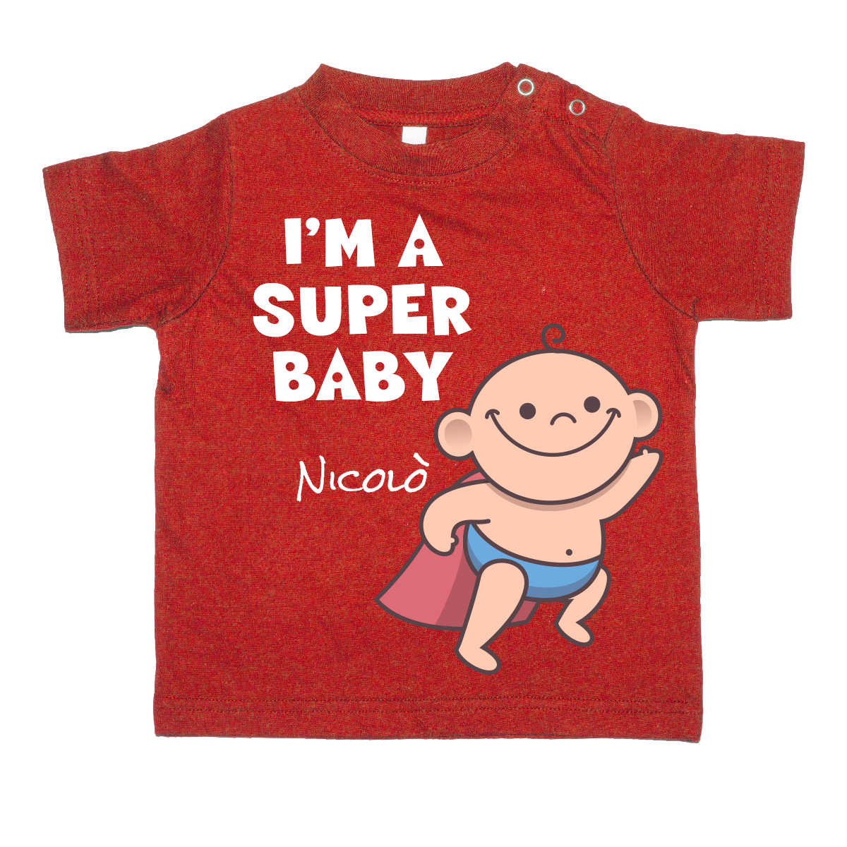 T-Shirt SuperBaby personalizzata 1