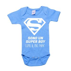 Body Super Boy personalizzato