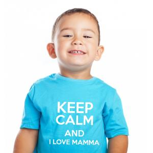 T-Shirt KEEP CALM personalizzata 1