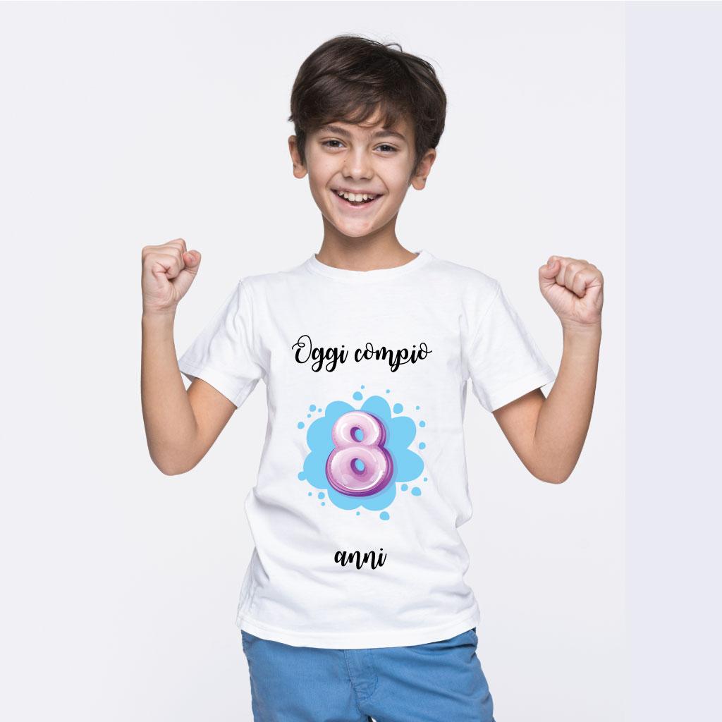 T-Shirt Oggi è il mio compleanno